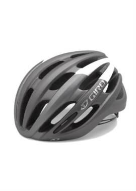 Giro Foray Helm - Mat Titanium/Wit