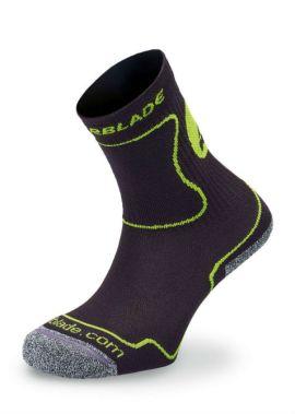Rollerblade kinder sokken zwart groen