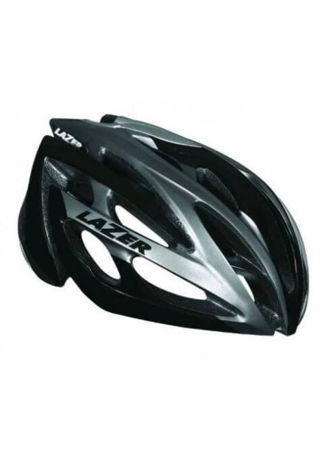 Lazer O2 Helm - Zwart/Grijs