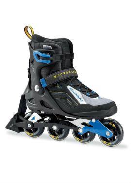 Rollerblade Macroblade 80- ABT - Inline Skate - zwart/blauw