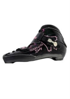Maple - MPL-4 lady - Inline skate - Zwart/roze