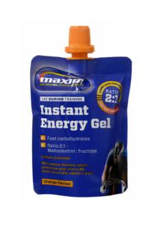 Maxim Instant Engergy Gel - Orange - Tijdens
