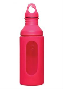 Mizu G7 Glazen Drinkfles – Roze – Vooraf/Tijdens/Achteraf