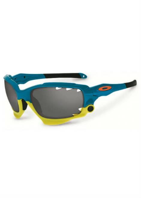 Oakley Racing Jacket - Sportbril - Blauw/Geel