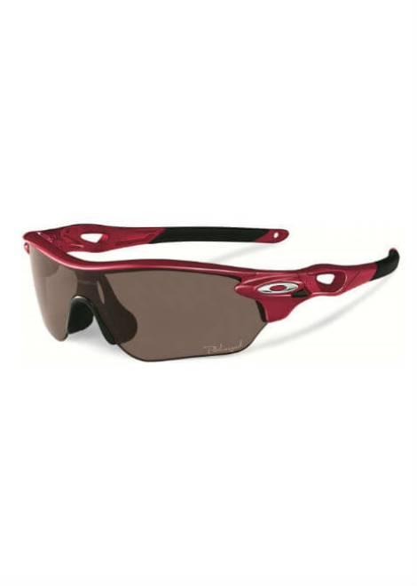 Oakley Radarlock Edge - Sportbril - Rood