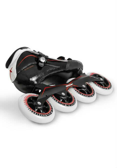 Powerslide X Skate - Inline Skate - Heren - Zwart/Rood