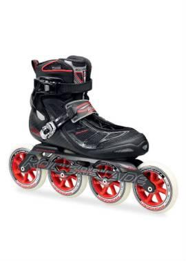 Rollerblade Tempest 110 C – Inline Skate – Zwart/Rood
