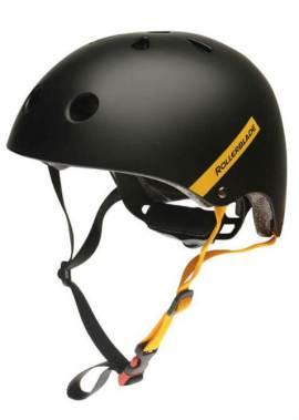 Rollerblade - Downtown Helm - Zwart/Geel - Unisex