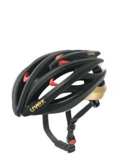 Uvex FP3 Helm - Mat Zwart/Goud