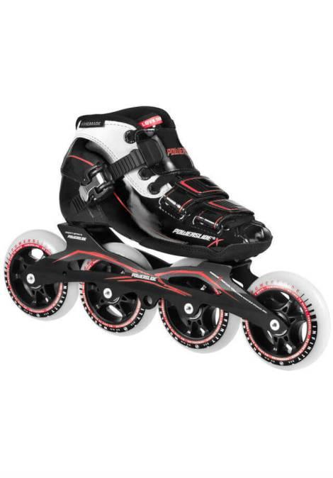Powerslide X JR - Inline Skate - Jongen - Zwart/Rood