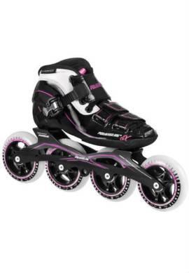 Powerslide X JR - Inline Skate - Meisje - Zwart/Roze