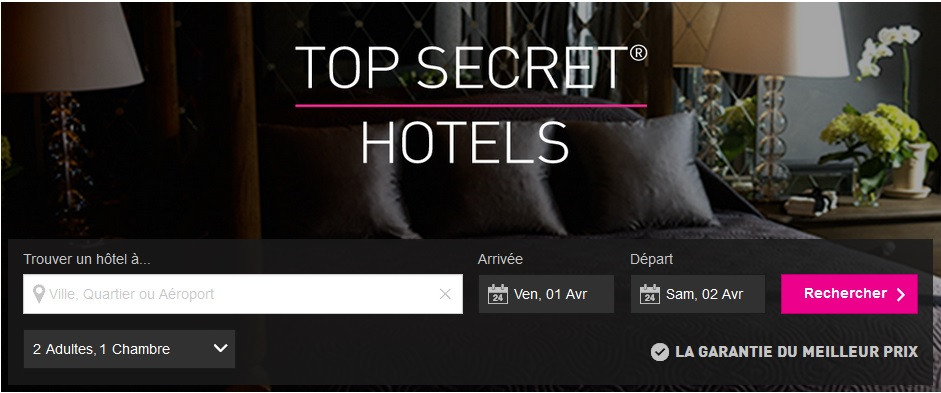 Hôtel Top Secret