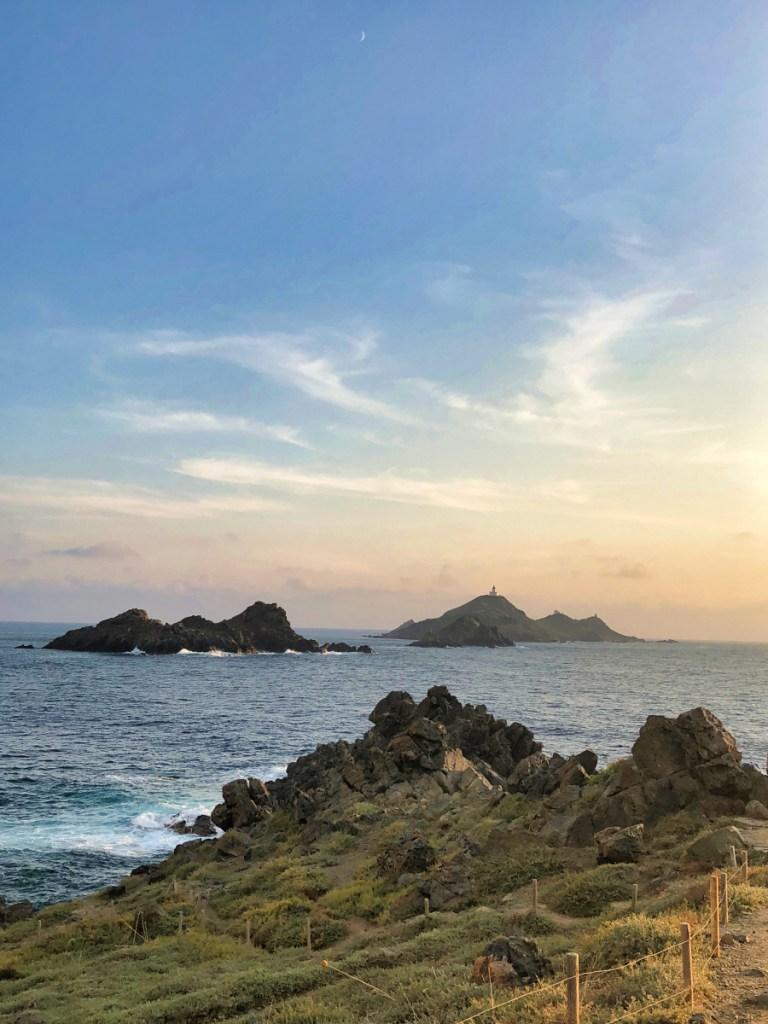 Îles Sanguinaires coucher de soleil