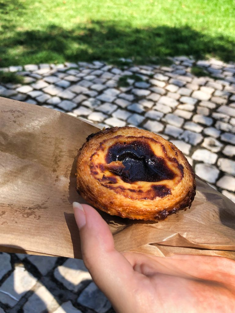pastel de nata vila real de santo antonio