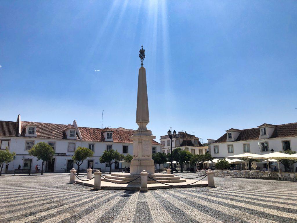 praça marqués de pombal vila real de santo antonio