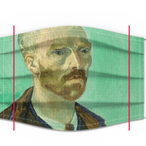 Van Gogh face Mask