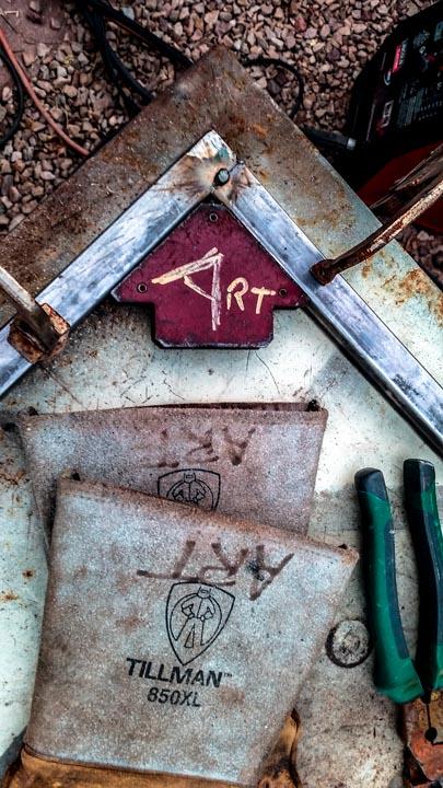 custom wood and metal artwork