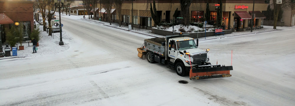 PDX Snow Plow