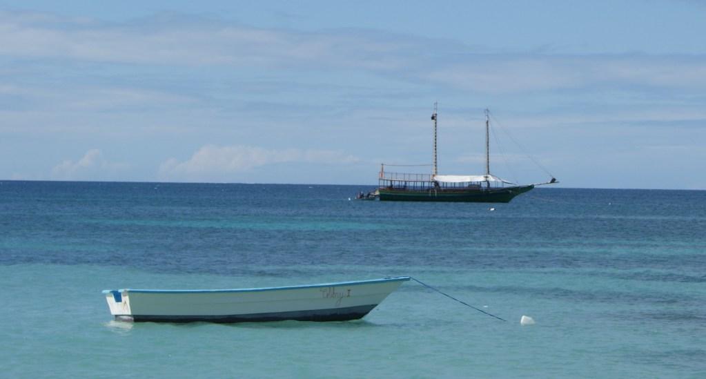 Boats in Punta Rucia