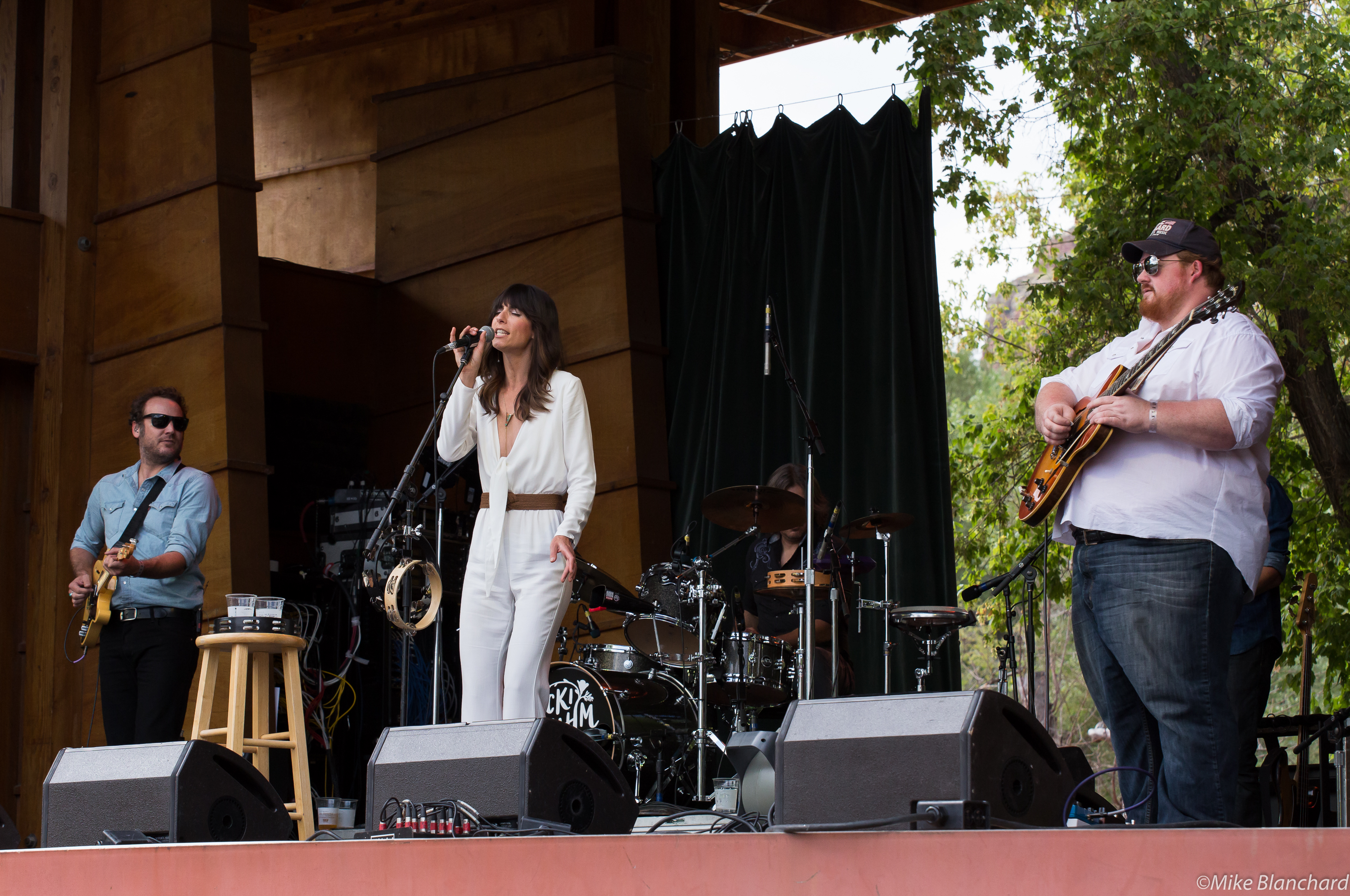 At the 2015 Rocky Mountain Folks Festival in Lyons, Colorado