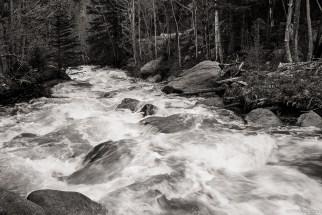 The Roiling Glacier Creek