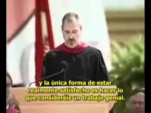 Steve Jobs en la Universidad de Stanford