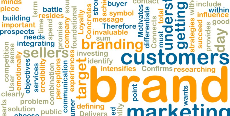 Nube palabras claves Brand Marketing