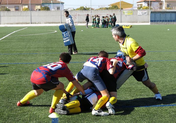 Entrenamiento Rugby - ejemplo aplicado a la empresa