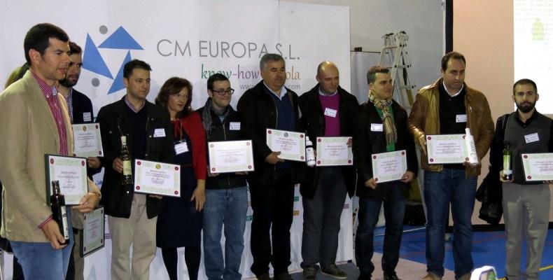 Foto de todos las empresas de aceite de oliva premiadas
