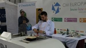 El chef Manu Urbano en #TweetsAOVE2015
