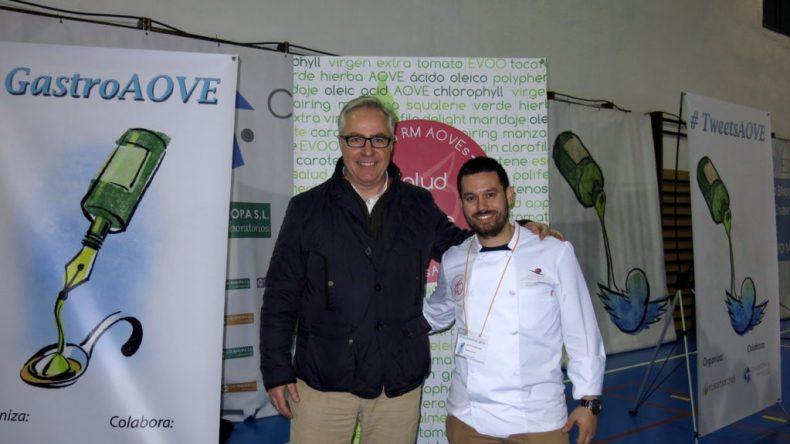 Foto con el chef Manu Urbano