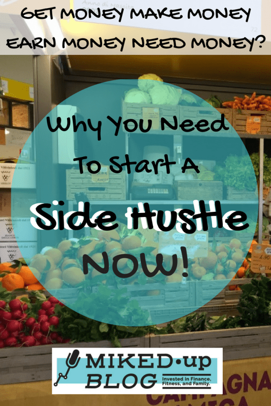 I Need a Hustle - Why You Need To Start a Side Hustle #SideHustle #earning #income #debt #passion #skills
