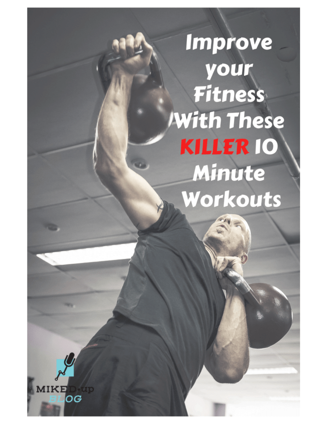 Improve your Fitness With These Killer 10 Minute Workouts #cardio #fitness #goals #improvement