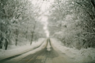This would have been a cool winter shot if it was in focus.