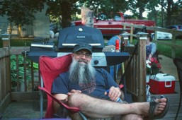 My cousin-in-law, Dave's beard is very photogenic!