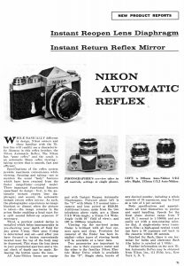 Nikon F (1966) - mike eckman dot com