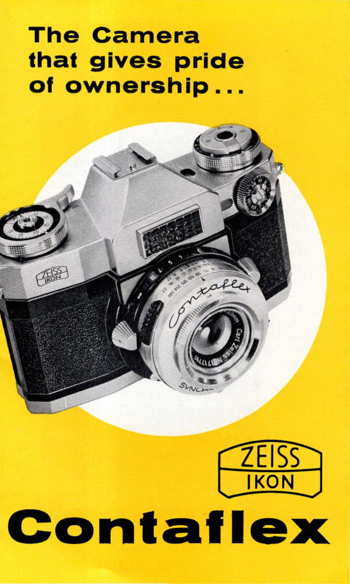 Zeiss-Ikon Contaflex Super (1959) - mike eckman dot com