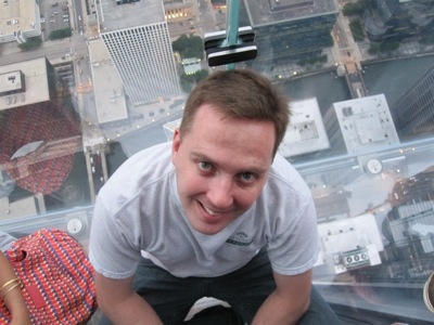 Sitting on air - Willis Tower