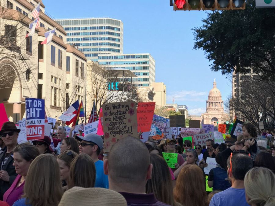Women's March on Austin