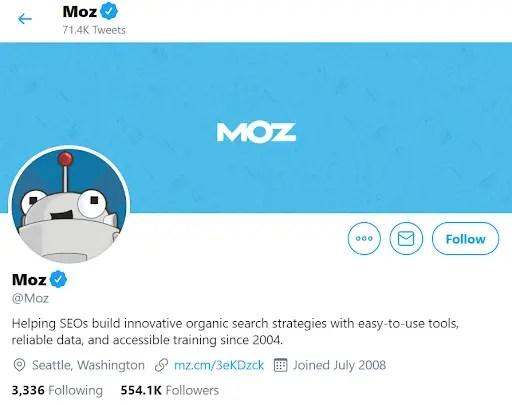 Moz Twitter