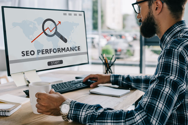SEO teams can show you SEO performance reports