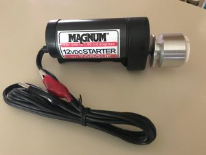 Magnum Accy – 12V Geared Electric Starter with Insert