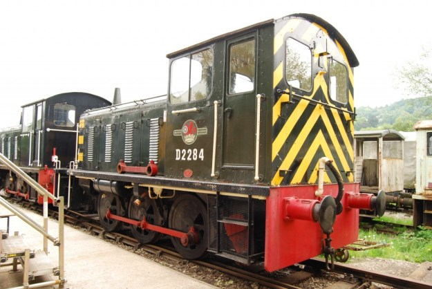 Peak Rail, Rowsley, Derbyshire:  British Railways D2284