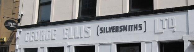 Former George Ellis (Silversmiths) Ltd, Arundel Street, Sheffield (2010)