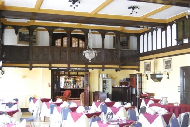 Cliftonville Hotel, Cromer:  dining room