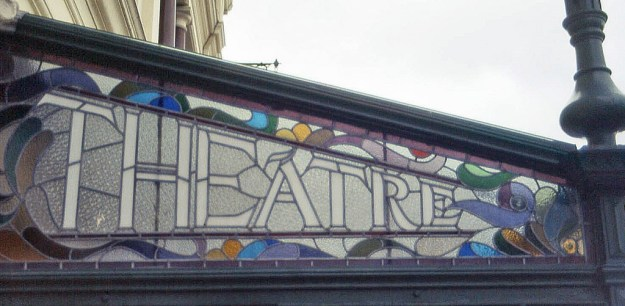 Gaiety Theatre, Douglas, Isle of Man:  marquee