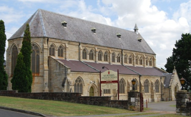 St Peter's Church, East Maitland, New South Wales, Australia