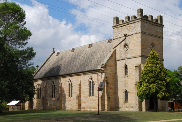 St James' Church, Morpeth, New South Wales, Australia
