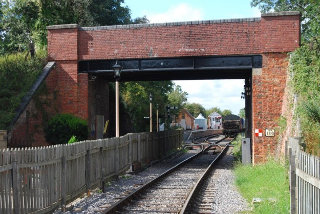 Blunsdon Station, Swindon & Cricklade Railway, Wiltshire