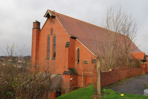 St Hilda's Church, Shiregreen, Sheffield (December 2011)